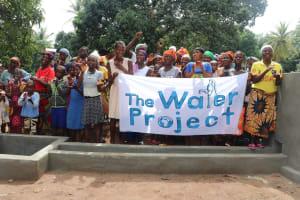 The Water Project: Lungi, Yaliba Village -  Well Celebration