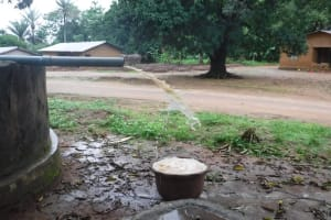 The Water Project: Lungi, Yaliba Village -  Yield Test