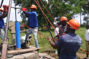 The Water Project: Lungi, Komkanda Memorial Secondary School -  Drilling