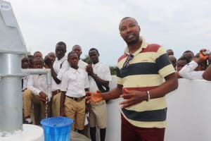 The Water Project: Lungi, Komkanda Memorial Secondary School -  Head Of District Council