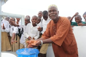 The Water Project: Lungi, Komkanda Memorial Secondary School -  School Chair