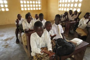 The Water Project: Lungi, Komkanda Memorial Secondary School -  Students During The Training