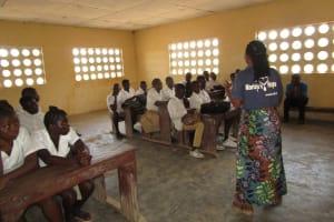 The Water Project: Lungi, Komkanda Memorial Secondary School -  Training