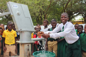 The Water Project:  Head Boy Rejoicing