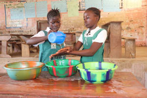 The Water Project:  Student Handwashing Demo