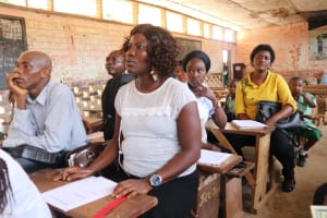 The Water Project:  Teachers At The Training