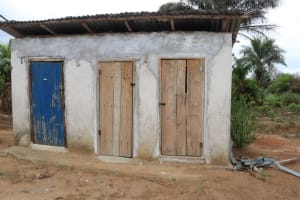 The Water Project: Sulaiman Memorial Academy Jr. Secondary School -  Latrine