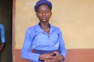 The Water Project: Sulaiman Memorial Academy Jr. Secondary School -  Rugietu Mansaray School Head Girl