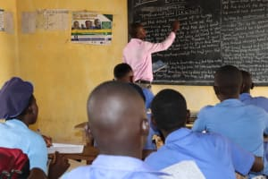 The Water Project: Sulaiman Memorial Academy Jr. Secondary School -  Students Inside Class Room