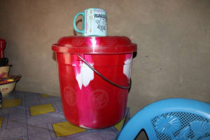 The Water Project: Sulaiman Memorial Academy Jr. Secondary School -  Water Storage