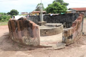 The Water Project: Lungi, Thomossoh, #24 Thullah Street -  Main Well