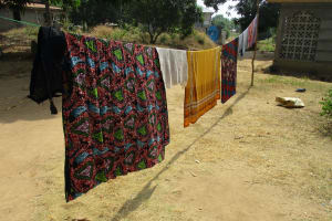 The Water Project: Lungi, Mahera, #5 MacAuley Street -  Clothesline