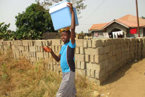 The Water Project: Lungi, Mahera, #5 MacAuley Street -  Young Boy Selling Cold Water