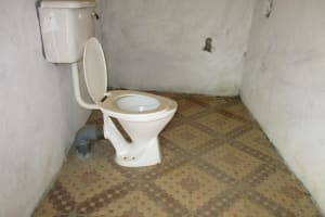 The Water Project: Lungi, International High School For Science & Technology -  Inside School Latrine