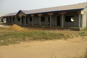 The Water Project: Lungi, International High School For Science & Technology -  School Building