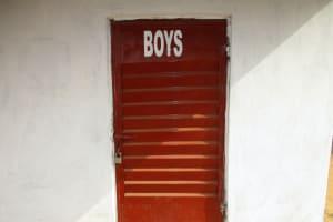 The Water Project: Lungi, International High School For Science & Technology -  School Latrine Boys Block