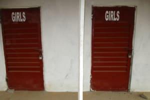 The Water Project: Lungi, International High School For Science & Technology -  School Latrine Girls Block