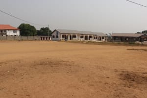 The Water Project: Lungi, International High School For Science & Technology -  School Playground