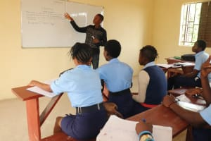 The Water Project: Lungi, International High School For Science & Technology -  Students Inside Classroom