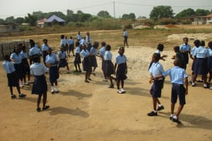 The Water Project: Lungi, International High School For Science & Technology -  Students Outside Classroom
