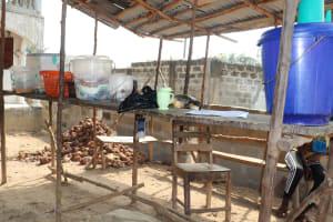 The Water Project: Lungi, Tardi, Khodeza Community School -  Dish Rack