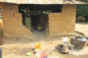 The Water Project: Lungi, Tardi, Khodeza Community School -  Kitchen
