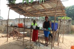 The Water Project: Lungi, Tardi, Khodeza Community School -  School Makert Place
