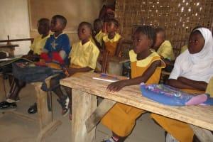 The Water Project: Lungi, Tardi, Khodeza Community School -  Students Inside Classroom