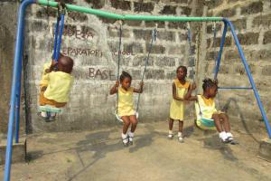 The Water Project: Lungi, Tardi, Khodeza Community School -  Students Playing