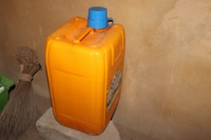 The Water Project: Lungi, Tardi, Khodeza Community School -  Water Storage At School