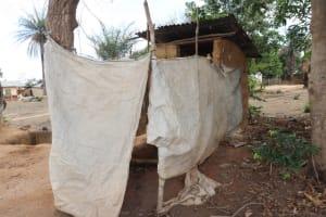 The Water Project: Kamasondo, Borope Village School -  Bath Shelter And Latrine