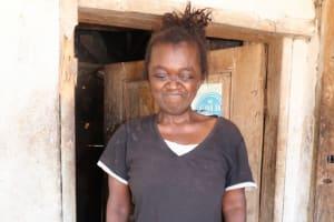 The Water Project: Kamasondo, Borope Village School -  Blind Woman
