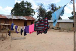 The Water Project: Kamasondo, Borope Village School -  Clothes Line