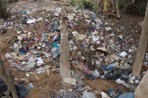 The Water Project: Kamasondo, Borope Village School -  Garbage Pit
