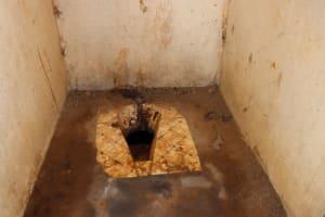 The Water Project: Kamasondo, Borope Village School -  Inside School Latrine