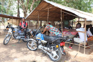 The Water Project: Kamasondo, Borope Village School -  Motor Bike Packing Ground