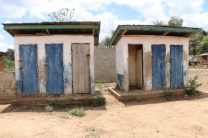 The Water Project: Kamasondo, Borope Village School -  School Latrine