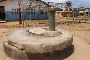 The Water Project: Kamasondo, Borope Village School -  School Well