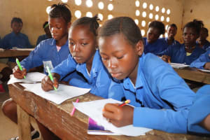The Water Project: Kamasondo, Borope Village School -  Students Inside Class Room