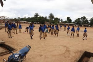 The Water Project: Kamasondo, Borope Village School -  Students Out Of Class Room