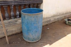 The Water Project: Kamasondo, Borope Village School -  Water Storage
