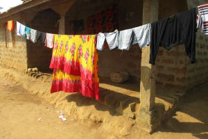 The Water Project: Lungi, Kamen, #22 Mission Road -  Clothes Line