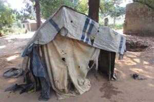 The Water Project: Lungi, Kamen, #22 Mission Road -  Latrine