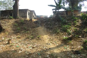 The Water Project: Lungi, Kamen, #22 Mission Road -  Road To Another Alternate Water Source