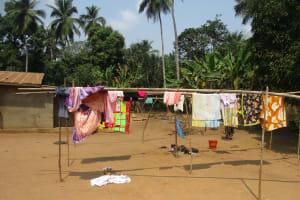 The Water Project: Lokomasama, Gbonkogbonko Village -  Clothes Line