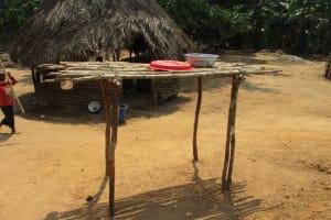 The Water Project: Lokomasama, Gbonkogbonko Village -  Dish Rack