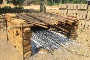 The Water Project: Lokomasama, Gbonkogbonko Village -  Fish Rack Where Community Members Dry Fishes