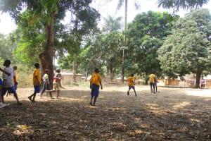 The Water Project: Lokomasama, Gbonkogbonko Village -  Kids Playing Football