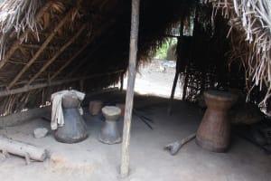 The Water Project: Lokomasama, Gbonkogbonko Village -  Kitchen