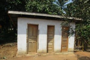 The Water Project: Lokomasama, Gbonkogbonko Village -  Latrine